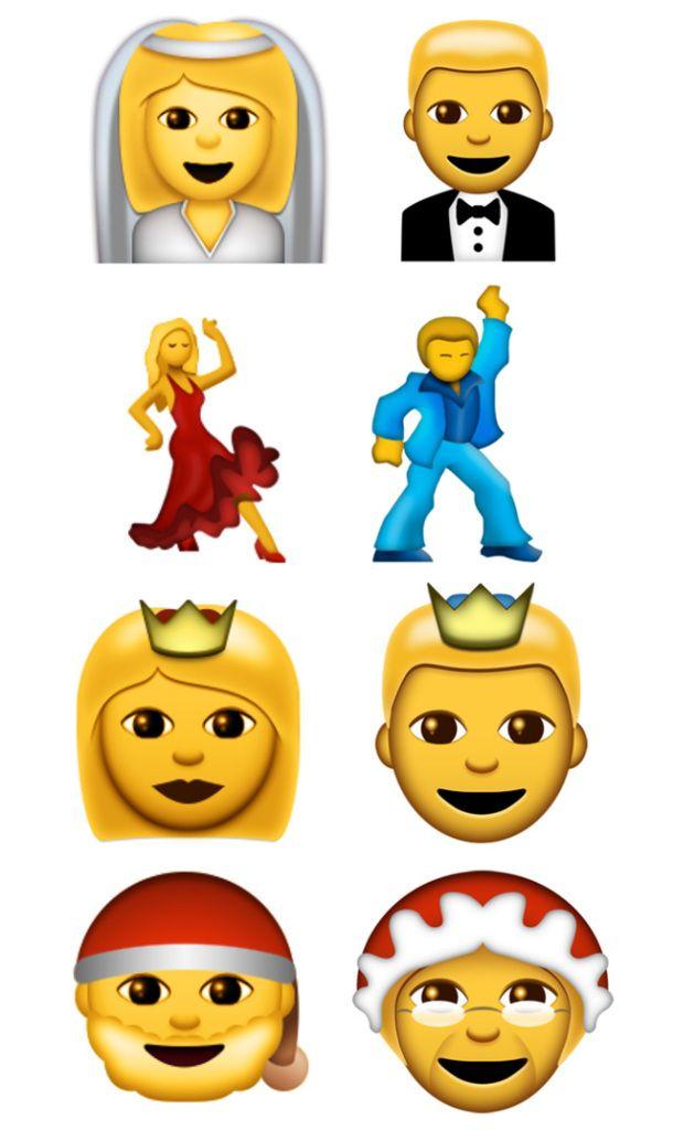 Les nouveaux emoji
