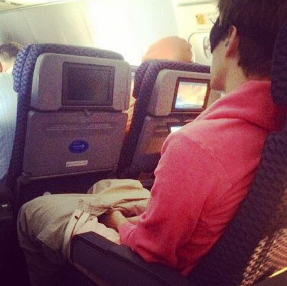 photos inédites dans les avions (15)
