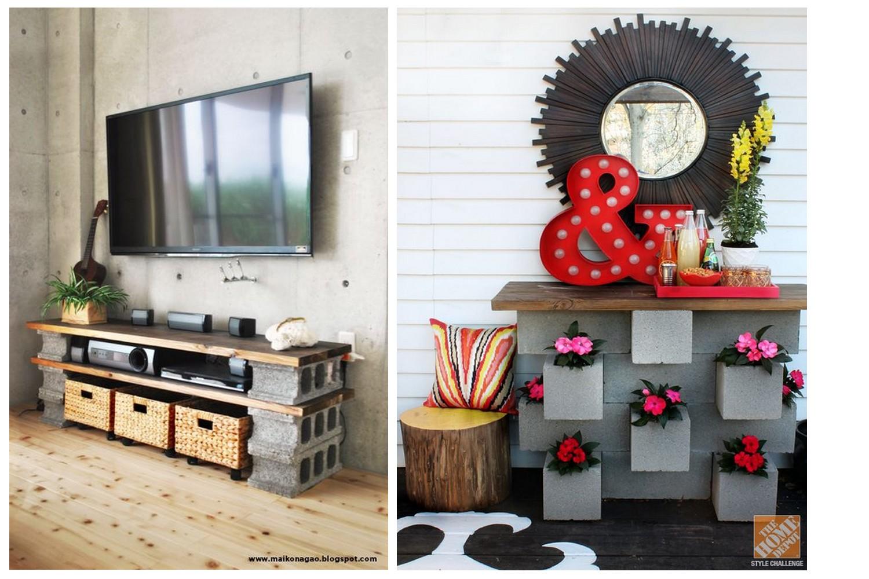 Super 15 idées magnifiques de décorations avec des parpaings – Happie's &PU_51